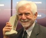 Cooper on phone