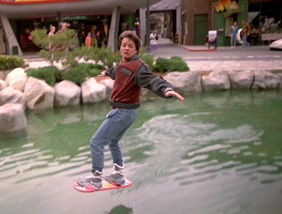 17b6d768d6f38 On this day in 2013, HUVrTech, along with Tony Hawk, introduce the new  Hover Board, a concept first seen in the iconic movie, Back to the Future,  ...