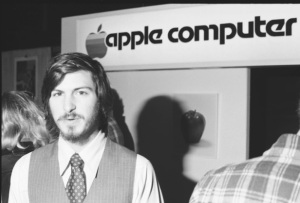 Jobs at the 1977 computer fair