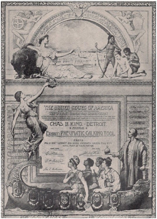 1893_Chicago_Exiibition_exhibit_diploma