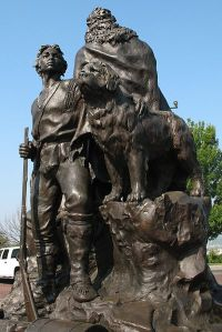 Monument to Lewis, Clark & Seaman