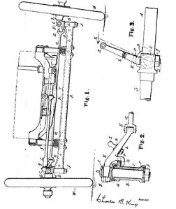 Car steering gear