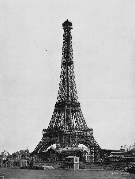 The eiffel tower this day in tech history - Tour eiffel dimension ...