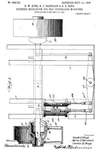 Steering Mechanism, 1906