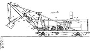 Steam shovel apparatus