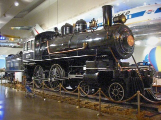 No. 999 preserved on static display at the Museum of Science and Industry in Chicago, photo from 2003