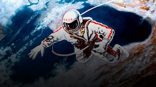 Alexei Leonov, First Spacewalk